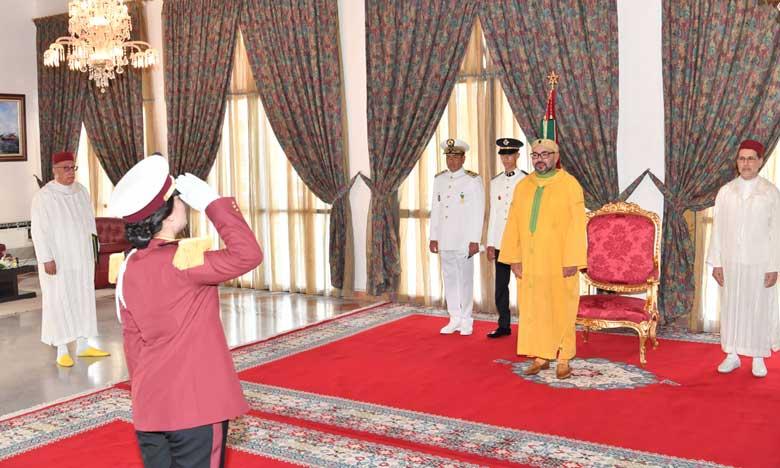 S.M. le Roi reçoit les vœux de la famille des Forces Armées Royales