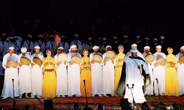 Le Festival national de l'art d'Ahidous représente une belle opportunité de divertissement pour  le public.