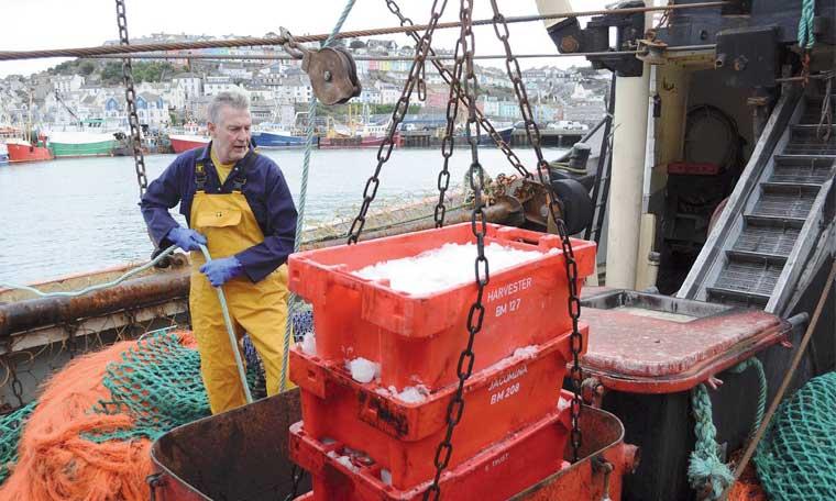 La Grande-Bretagne veut se dissocier de l'UE dans sa politique de pêche