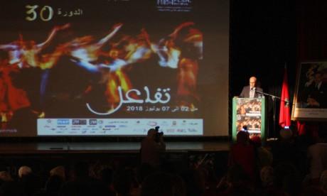 Coup d'envoi du 30e Festival  international du théâtre universitaire