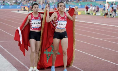 Le Maroc termine leader en athlétisme et huitième au classement général