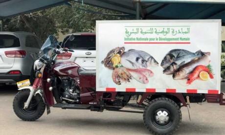 INDH: Remise d'une ambulance, de véhicules de transport  et de marchandises