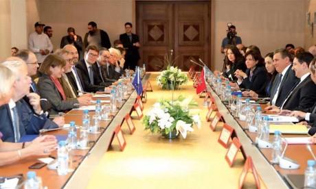 La commission parlementaire mixte Maroc-UE se félicite de l'achèvement des négociations relatives au renouvellement de l'Accord de pêche