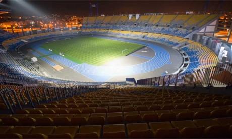 Le Grand Stade de Tanger plongé dans le noir
