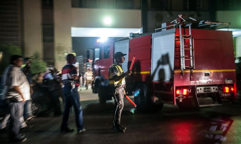 L'explosion a eu lieu dans un réservoir d'une entreprise spécialisée dans les « industries chimiques » et située dans un périmètre contrôlé par l'armée. Ph : AFP