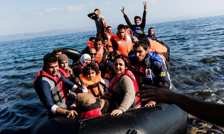 Le phénomène migratoire doit être abordé à partir d'une dimension humanitaire et non seulement suivant une approche sécuritaire et de contrôle des frontières, ont insisté le chef d'Etat français et le président de l'Exécutif espagnol. Ph : DR