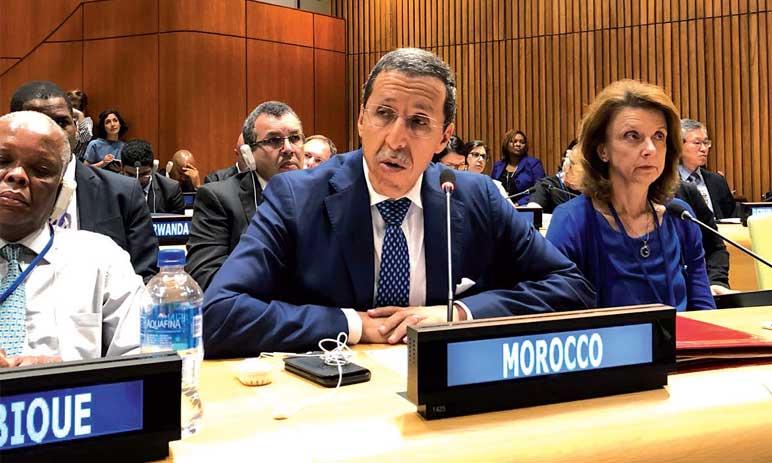 Le Maroc se félicite du consensus construit autour  du Pacte mondial sur la migration