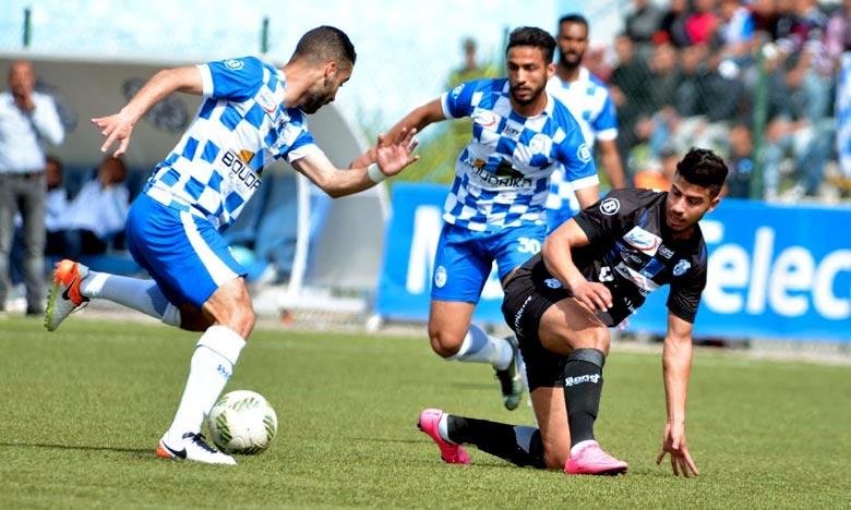 Selon le tirage au sort, le champion de Botola Maroc Telecom de football, l'Ittihad de Tanger (IRT) entamera la défense de son titre face au Rapide Oued Zem (RCOZ). Ph : Seddik