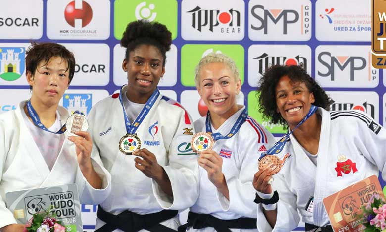 La Marocaine Asmaa Niang décroche le bronze