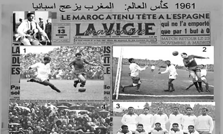 En novembre 1961, le Maroc a tenu tête à l'Espagne