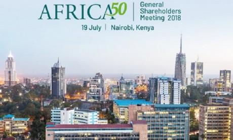 Infrastructures : De nouveaux actionnaires pour Africa50