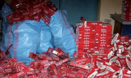 Saisie de plus de 34.000 paquets de cigarettes de contrebande