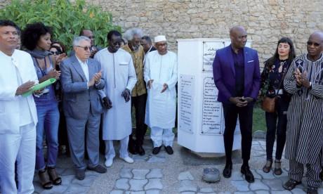 Le poète Amadou Lamine Sall reçoit le prix «Tchicaya U Tam'si»