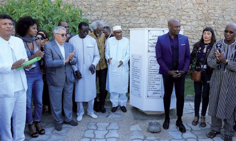 La cérémonie de remise du onzième prix «Tchicaya U Tam'si» était, comme la tradition du Moussem d'Assilah le veut, l'occasion de visiter le jardin «Tchicaya U Tam'si».