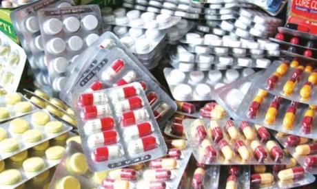 Saisie d'une importante quantité de médicaments de contrebande