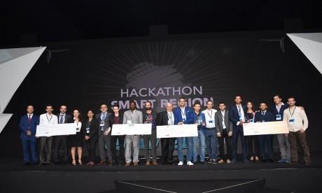Les gagnants du Hackathon Morocco Social Tech reçoivent leurs prix