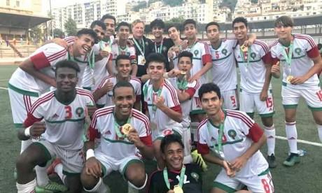 Le Maroc U15 décroche l'or face au Nigeria