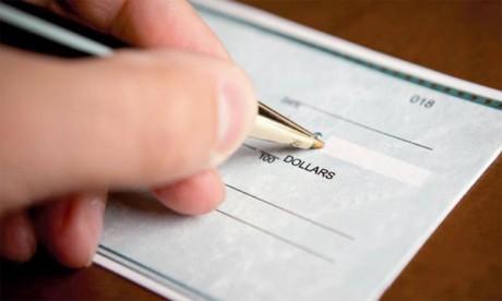 En 2017, le chèque a fait face à une hausse de la fraude de près de 25 millions d'euros.