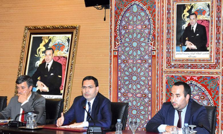 Selon M. El Khalfi, cinq priorités sont d'ores et déjà fixées pour le futur exercice.                        Ph. Kartouch