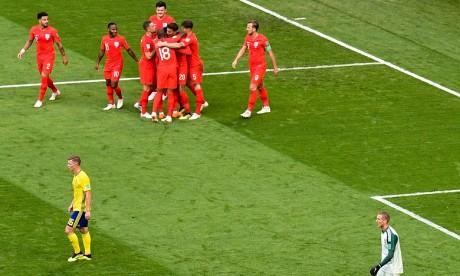 L'Angleterre en demi-finale