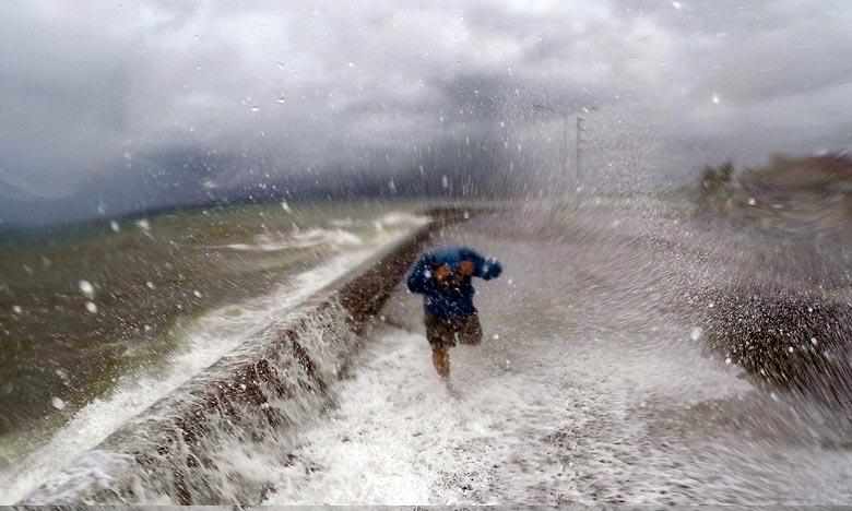 Le Japon est souvent traversé par d'importants fronts pluvieux en plus des typhons qui le balayent régulièrement en été. Ph :  AFP