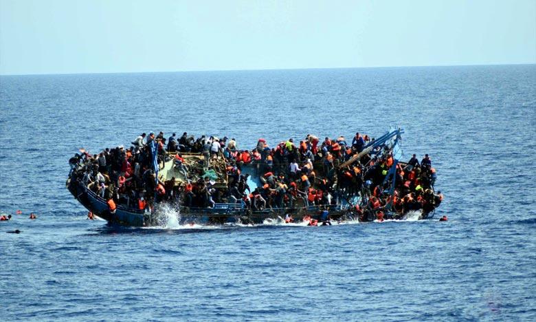 Soixante-trois migrants portés disparus au large de la Libye