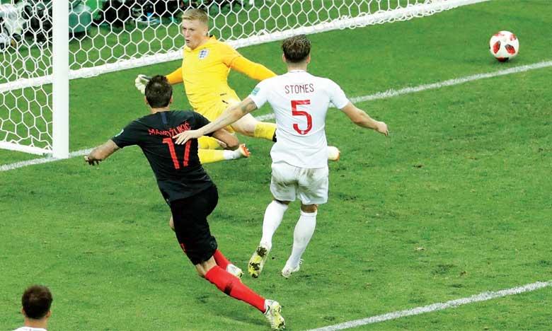 La Croatie bat l'Angleterre et rejoint la France en finale
