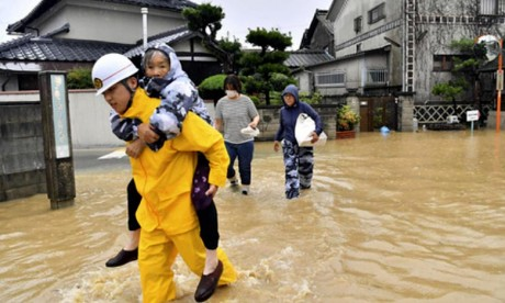 Une dizaine de morts et 45 disparus au Japon