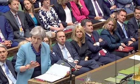 Une semaine test pour la Première ministre britannique Theresa May
