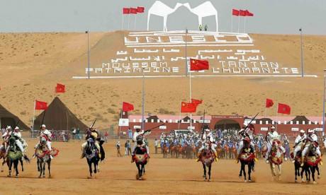 La Chine, invitée d'honneur du 14e Moussem de Tan-Tan