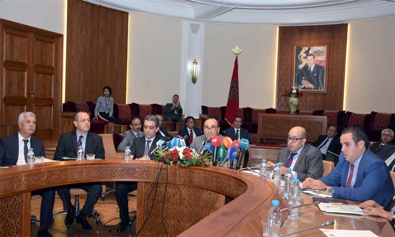 M. El Malki s'est félicité du renforcement des instruments de la diplomatie parlementaire. Ph. MAP