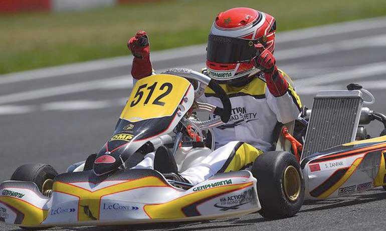 Un nouveau podium  marocain grâce à Suleiman Zanfari