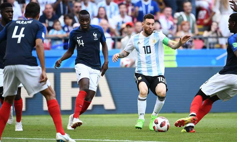 L'Uruguay et la France en quart de finale