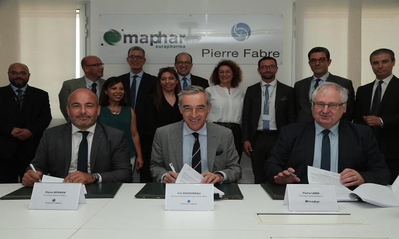 Maphar et Pierre Fabre renforcent leur partenariat