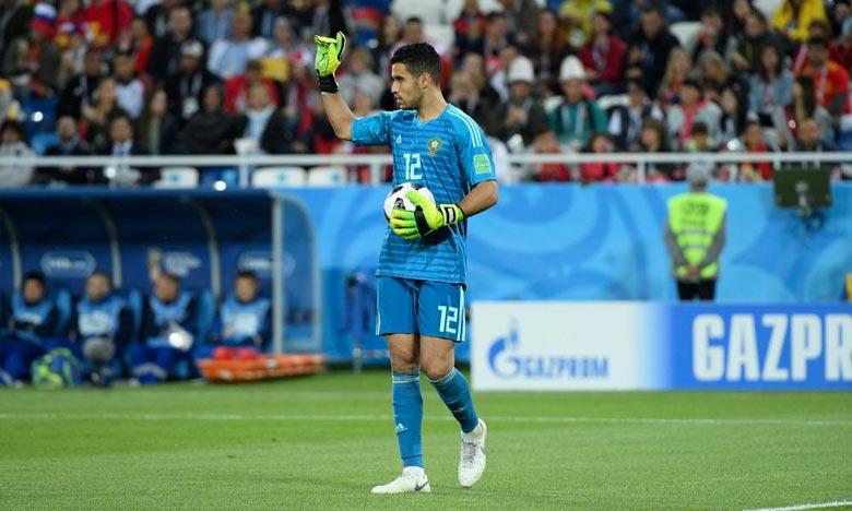 Après avoir disputé le Mondial russe avec le Maroc, le gardien Munir El Kajoui va reprendre la saison avec Malaga. Ph : DR