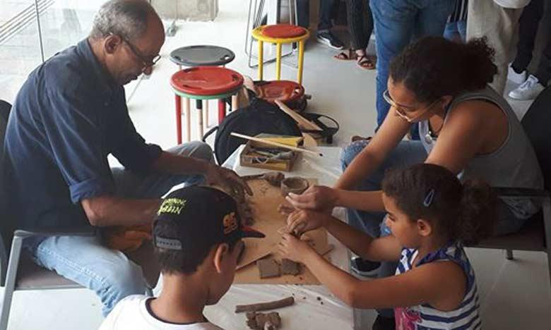 L'Expo-Atelier ou la confrontation des démarches plastiques de deux grandes écoles marocaines