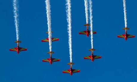 Le show des Forces Royales Air impressionne à Lisbonne
