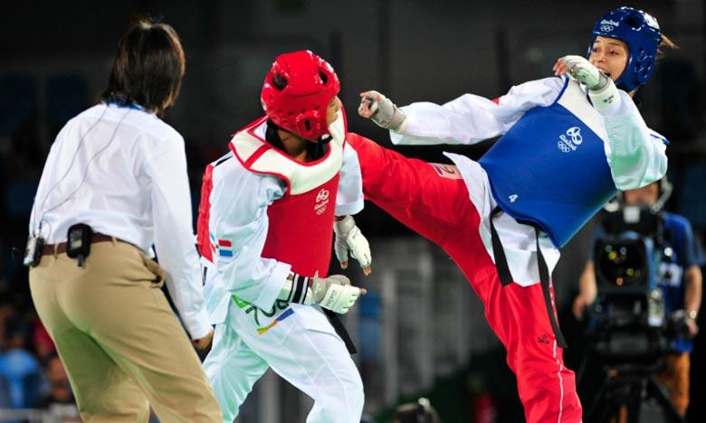 Les taekwondistes marocaines ont décroché la médaille de bronze au Championnat du monde par équipes, dans la ville de Wuxi, en Chine. Ph : DR