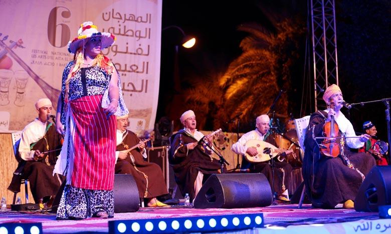 La 7e édition du Festival national des Arts d'El Aïta Jabalia sera marquée par l'organisation d'une panoplie d'activités, dont des soirées artistiques. Ph : MAP
