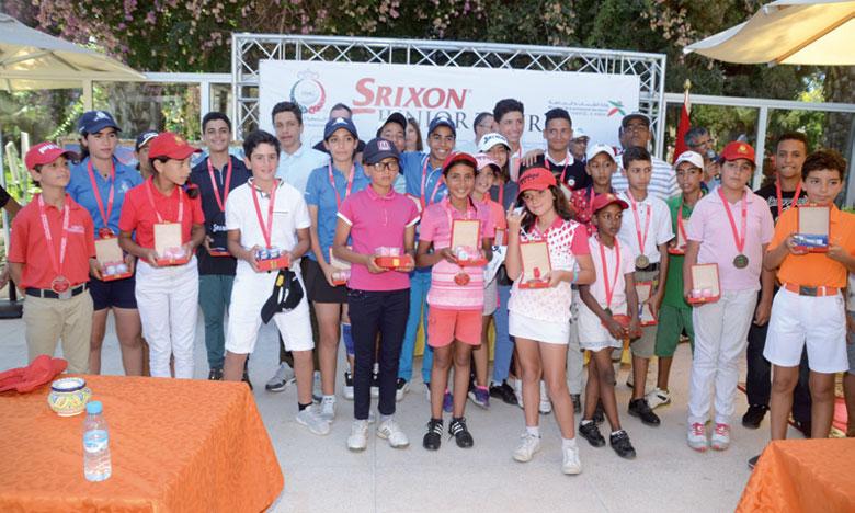Le Junior Srixon Tour convie 130 jeunes talents à Agadir pour sa 4e étape