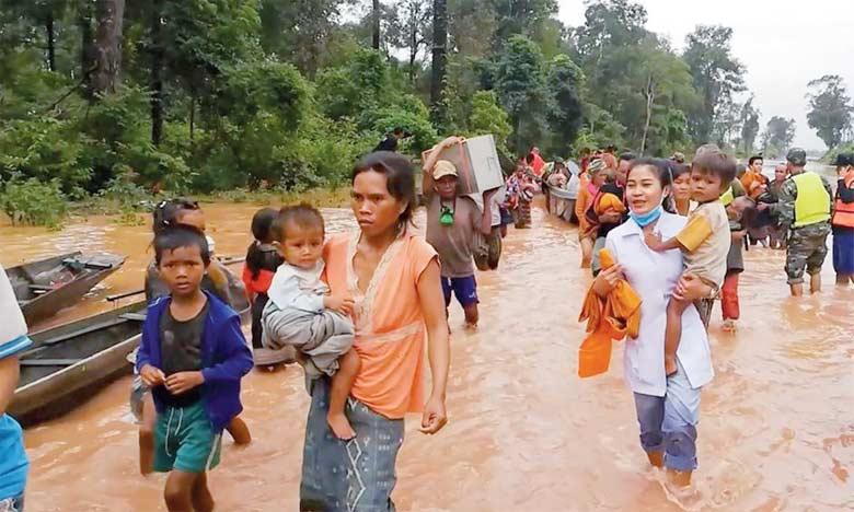 Cette catastrophe «révèle l'inadéquation des systèmes d'alerte», a déploré Maureen Harris, spécialiste des barrages laotiens pour l'ONG International Rivers.  Ph. DR