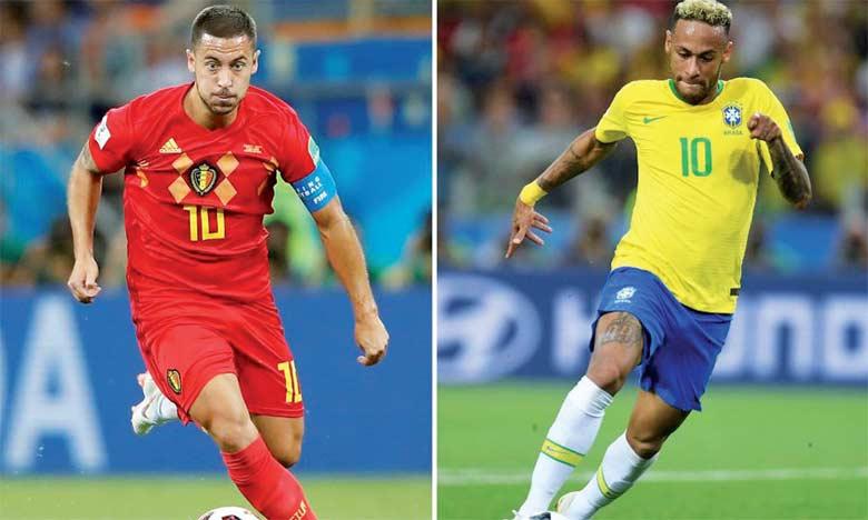 Le match Brésil-Belgique se jouera pour la cinquième fois de l'histoire des deux nations, avec un avantage de 3 victoires pour  les Brésiliens.