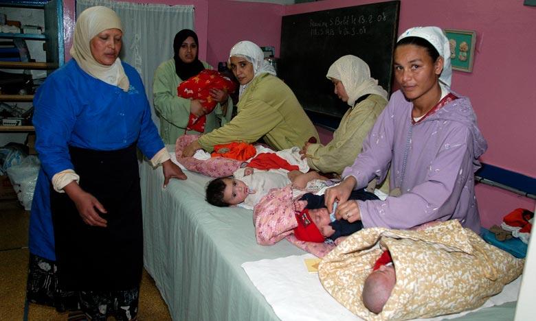 Selon la dernière Enquête nationale sur la population et la santé familiale (ENPSF), le ministre a relevé que le taux de mortalité infantile est passé de 84 décès en 1992 à 22,16 décès pour 1.000 naissances vivantes en 2018, soit une baisse de 74%. Ph : Kartouch