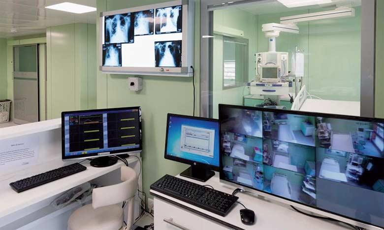 La clinique compte 100 lits d'hospitalisation, dont 19 lits de réanimation pour adultes, 20 couveuses pour réanimation néonatale et 18 lits d'hôpital de jour.