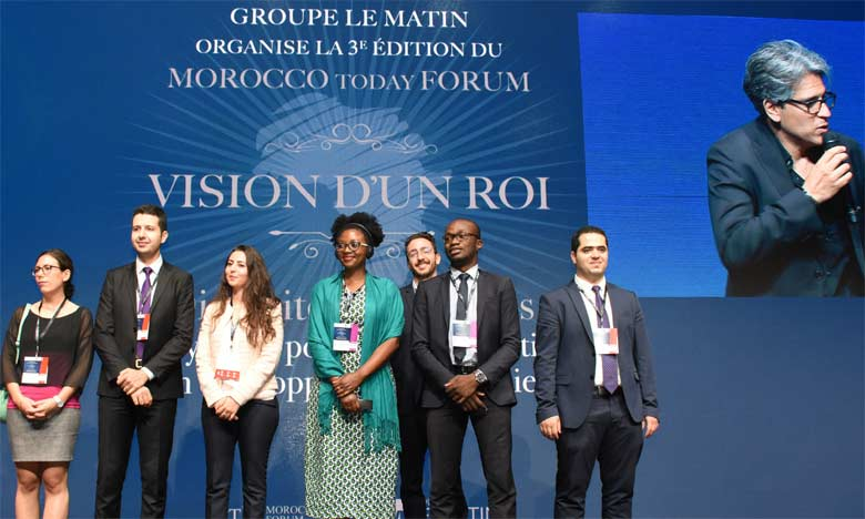 L'objectif du «Young Thinkers» est de formuler des propositions pour une meilleure intégration des jeunes dans la dynamique de développement des territoires.