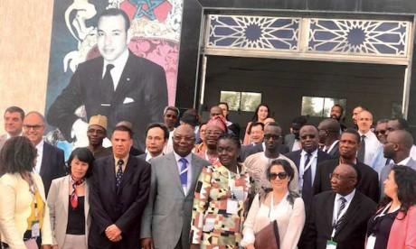 Une forte délégation visite les réalisations de l'AMCI