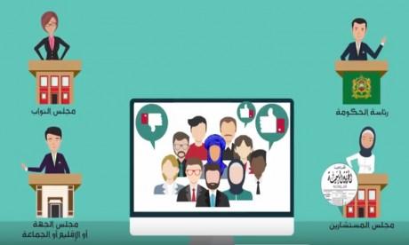 Le portail de la participation citoyenne mis en ligne
