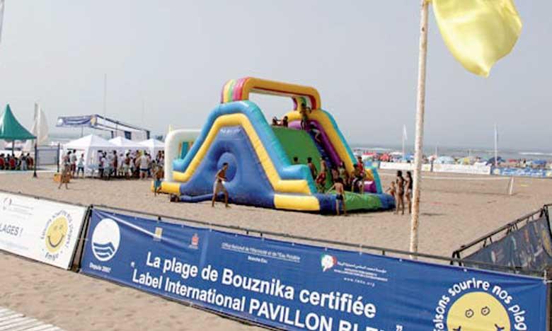 La plage de Bouznika hisse le Pavillon bleu pour la 12e année consécutive