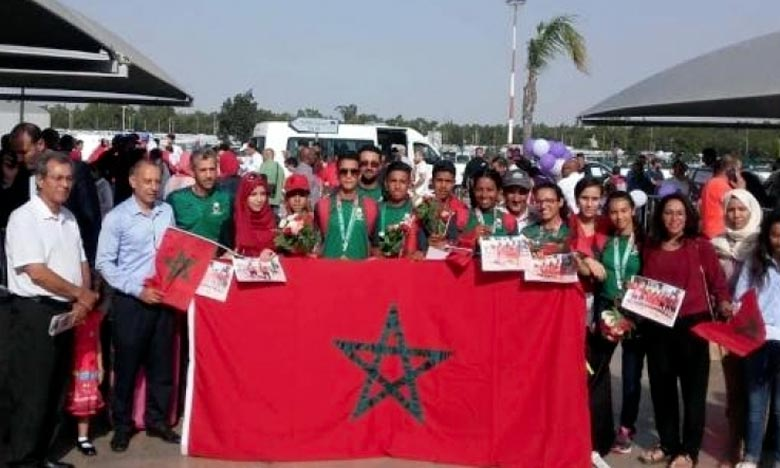 Le Maroca récolté 106 médailles dans diverses disciplines sportives, dont 29 médailles d'or, 37 d'argent et 40 de bronze. Ph : DR