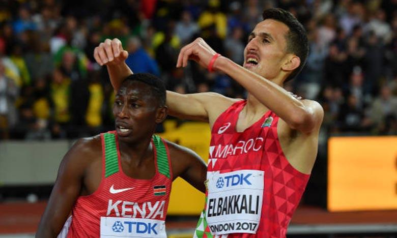 Soufiane El Bakkali, vice-champion du monde, qui réalise la meilleure performance mondiale de l'année sur 3.000 m steeple en 7 min 58 sec 15/100e à Monaco. Ph : DR
